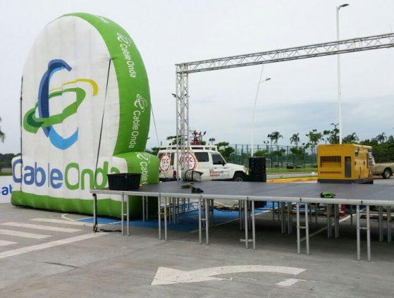Alquiler de Estructuras Para Eventos en Panamá